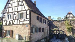 Blick auf Pfistermühle und Lauter